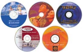 dvd replication with full color printing